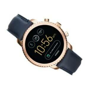 Fossil FTW4002- Smartwatch para Hombres con Correa de Cuero